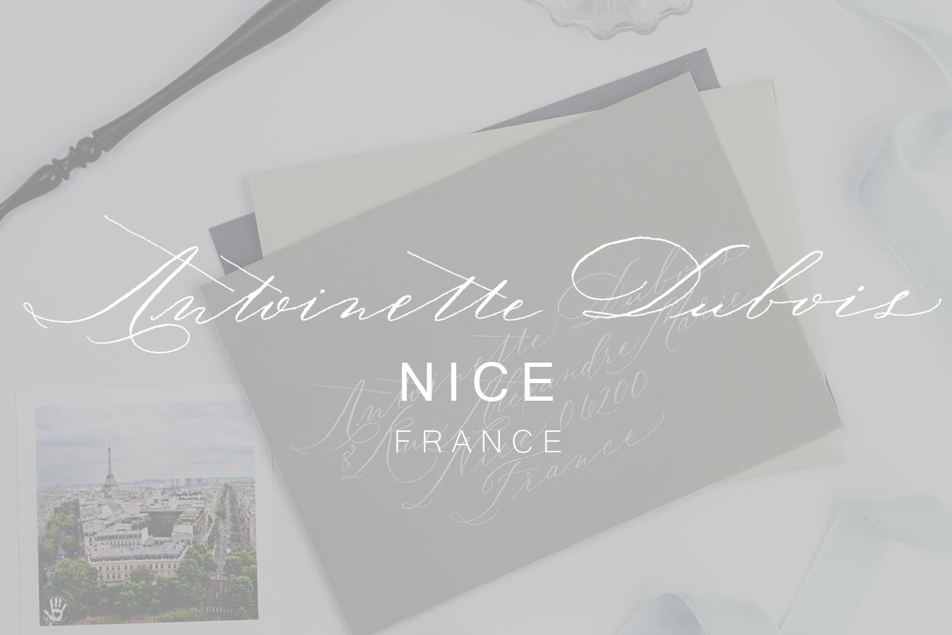 Antoinette Dubois | KACD Lettering Styles