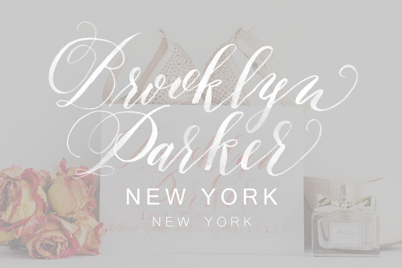 Brooklyn Parker | KACD Lettering Styles